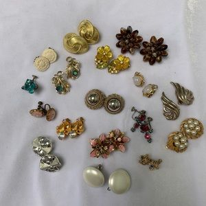 Vintage Collection Clip and Screwback Earrings